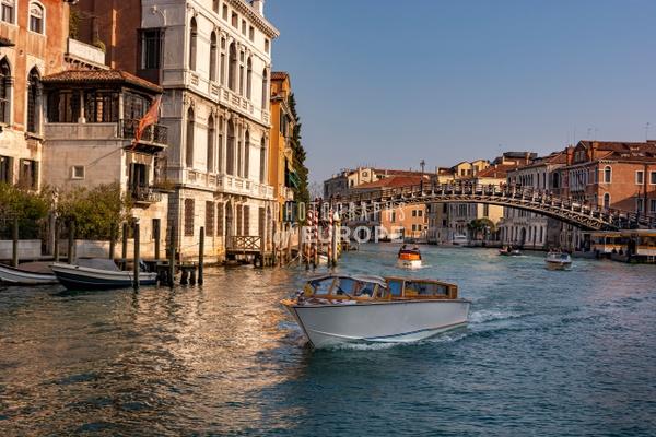Academy-Bridge-Ponte-dell-Accademia-Grand-Canal-Venice-Italy - Photographs of Venice, Italy..