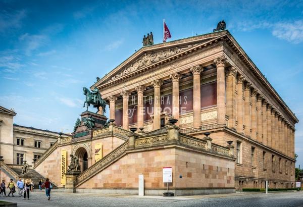 Alte-Nationalgalerie-Berlin-Germany - Photographs of Berlin, Germany.
