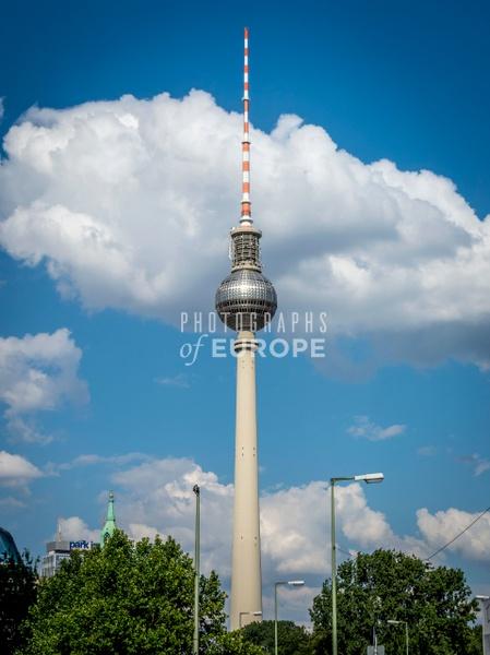 Berlin-TV-Tower-Berlin-Germany-2 - Photographs of Berlin, Germany.