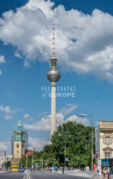 Berlin-TV-Tower-Berlin-Germany - Photographs of Berlin, Germany.