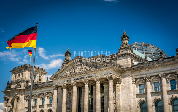 The-Reichstag-Building-Berlin-Germany - Photographs of Berlin, Germany.