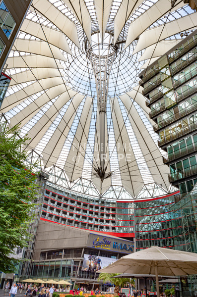 Sony-Centre-amazing-interior-berlin-germany - Photographs of Berlin, Germany.