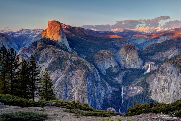 High Sierra Sunset