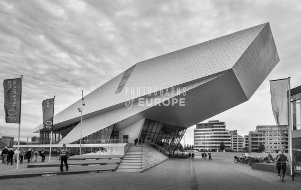 EYE-Building-Amsterdam_Netherlands-black-and-white - Photographs of Amsterdam, Netherlands.