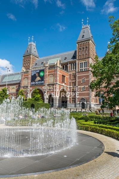 Rijks-Museum-Amsterdam-Netherlands-1 - Photographs of Amsterdam, Netherlands.