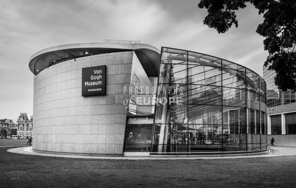 Van-Gogh-Museum-Amsterdam-Netherlands - Photographs of Amsterdam, Netherlands.