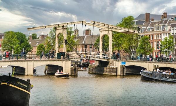 The-Magere-Brug-skinny-bridge-Amsterdam-Netherlands - Photographs of Amsterdam, Netherlands.