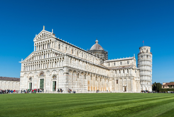 Cathedral-and-Leaning-Tower-of-Pisa-Italy - Photographs of Florence and Pisa, Italy.