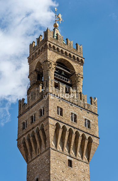 The-tower-of-Palazzo-Vecchio-Florence-Italy - Photographs of Florence and Pisa, Italy.