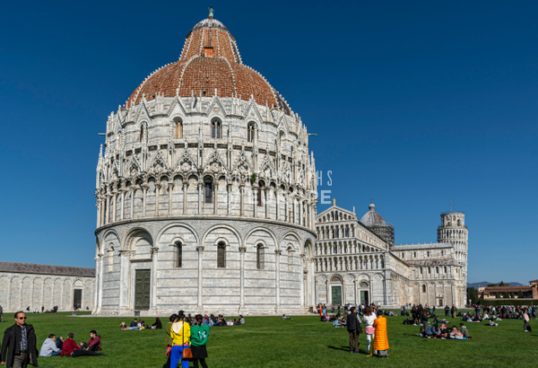 Baptistery-of-St-John-Pisa-Italy - Photographs of Florence and Pisa, Italy.
