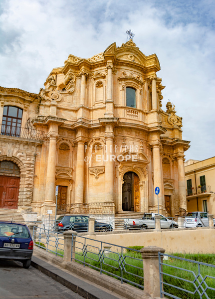 Chiesa-di-San-Domenico-Noto-Sicily-Italy - Photographs of Sicily, Italy.