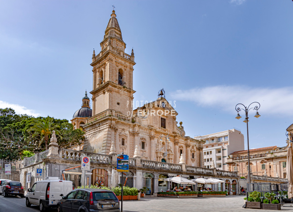 Cathedral-of-Saint-John-the-Baptist-Ragusa-Sicily-Italy - Photographs of Sicily, Italy.