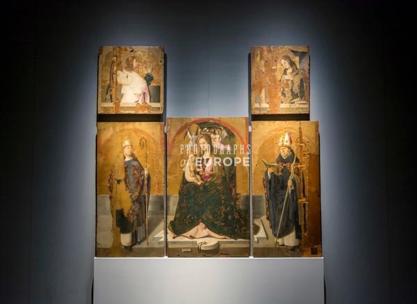 Polittico-di-San-Gregorio-Antonello-da-Messina-Messina-Gallery-Sicily-Italy - Photographs of Sicily, Italy.
