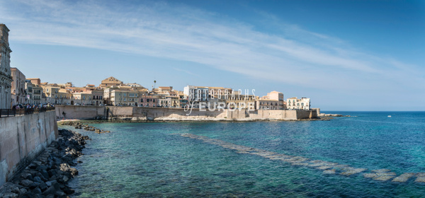 Seafront-Syracuse-Sicily-Italy-Panorama-2 - Photographs of Sicily, Italy.