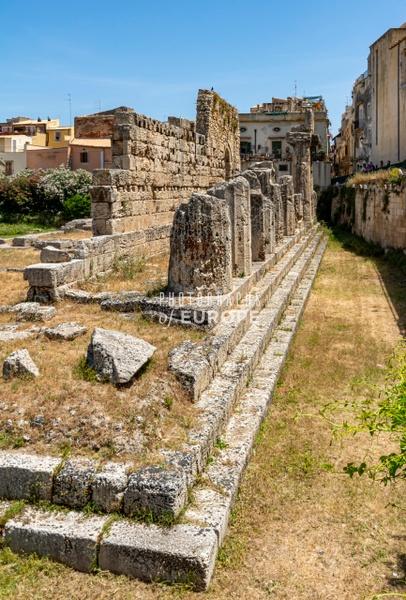 Temple-of-Apollo-Syracuse-Sicily-Italy - Photographs of Sicily, Italy.