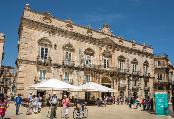Town-Hall-Syracuse-Sicily-Italy - Photographs of Sicily, Italy.