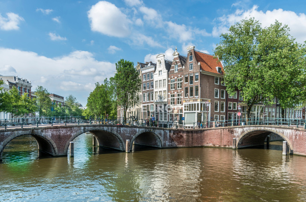 Amsterdam-canal-view-Amsterdam-Netherlands-2 - Photographs of European famous places and landmark buildings..