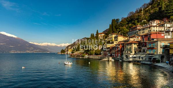 Varenna-Lake-Como-in-winter-Italy - Photographs of European famous places and landmark buildings..