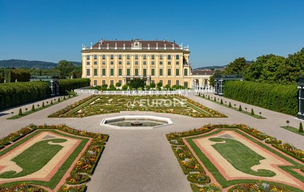 Garden-on-the-Cellar-Schönbrunn-Palace-Vienna-Austria - Photographs of Granada, Spain