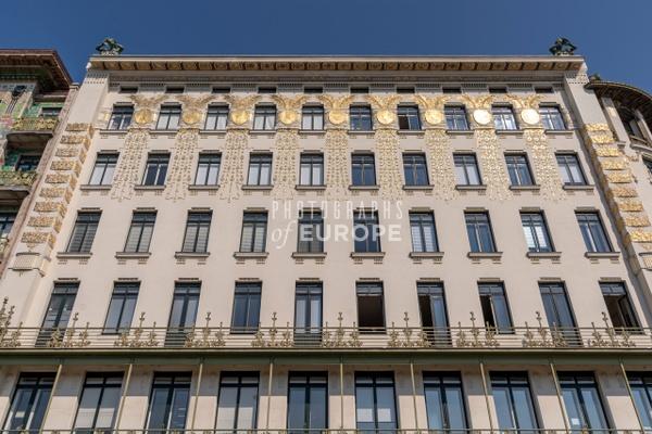 Otto-Wagner-apartment-building-Linke-Wienzeile-No-38-Vienna-Austria - Photographs of Granada, Spain