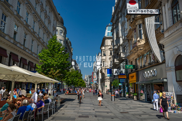 Kärntner-Strasse-street-view-Vienna-Austria - Photographs of Granada, Spain
