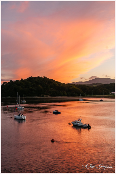 Deganwy sunset by Ingymon