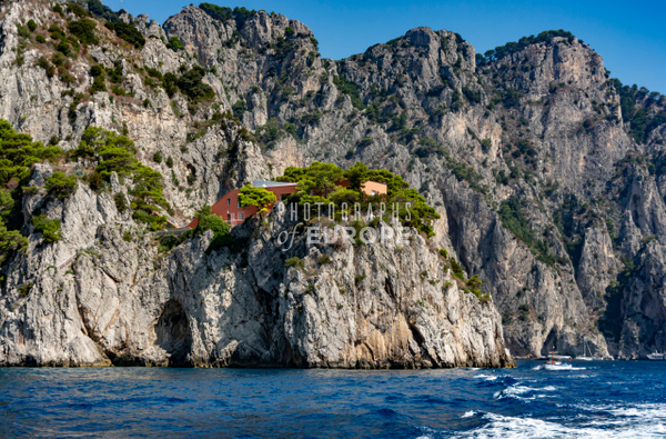 Curzio-Malaparte-Villa-Malaparte-Capri-Italy - Photographs of the Amalfi Coast, Capri and Sorrento, Italy