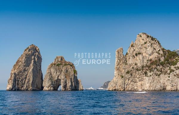 Faraglioni-Rocks-Capri-Italy - Photographs of the Amalfi Coast, Capri and Sorrento, Italy