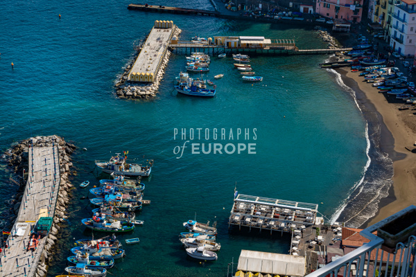 Old-harbour-Sorrento-Amalfi-Coast-Italy - Photographs of the Amalfi Coast, Capri and Sorrento, Italy