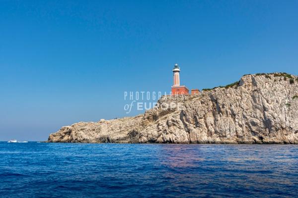 Punta-Carena-Lighthouse-Capri-Italy-2 - Photographs of the Amalfi Coast, Capri and Sorrento, Italy