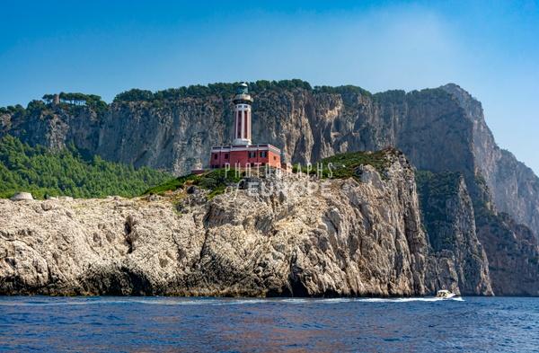 Punta-Carena-Lighthouse-Capri-Italy - Photographs of the Amalfi Coast, Capri and Sorrento, Italy