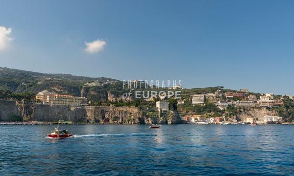 Sorrento-coastline-Capri-Italy - Photographs of the Amalfi Coast, Capri and Sorrento, Italy