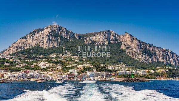 Capri-Town-Marina-Grande-Capri-Italy - Photographs of the Amalfi Coast, Capri and Sorrento, Italy