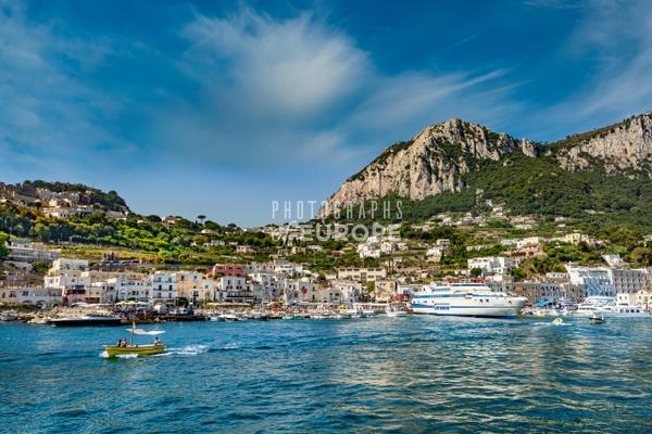 Capri-Town-Marina-Grande-Beach-Capri-Italy-2 - Photographs of the Amalfi Coast, Capri and Sorrento, Italy