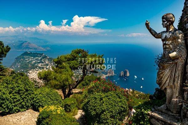 View-from-Monte-Solaro-Capri-Italy-2 - Photographs of the Amalfi Coast, Capri and Sorrento, Italy