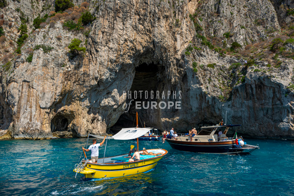 White-Grotto-Capri-Island-Italy - Photographs of the Amalfi Coast, Capri and Sorrento, Italy