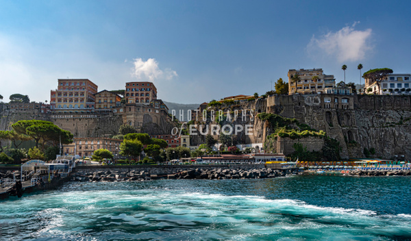 Sorrento-ferry-port-Italy - Photographs of the Amalfi Coast, Capri and Sorrento, Italy
