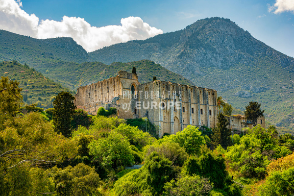 Bellapais-Abbey-Bellapais-Kyrenia-North-Cyprus-4 - Photographs of famous buildings and places in North Cyprus.