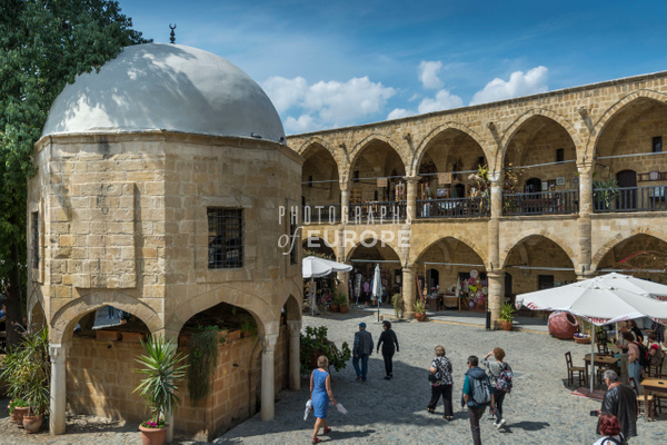The-Great-Inn-The-Büyük-Han-North-Nicosia-North-Cyprus-4 - Photographs of famous buildings and places in North Cyprus.