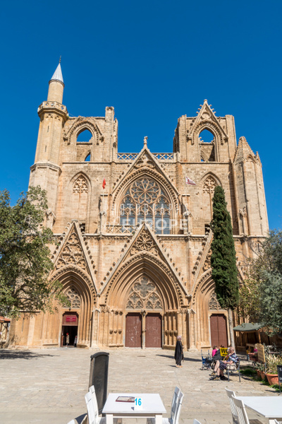 The-cathedral-of-St-Nicholas-Famagusta-North-Cyprus - Photographs of famous buildings and places in North Cyprus.