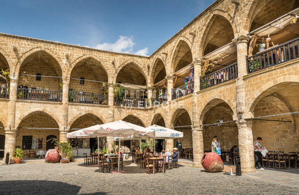 The-Great-Inn-The-Büyük-Han-North-Nicosia-North-Cyprus-1 - Photographs of famous buildings and places in North Cyprus.