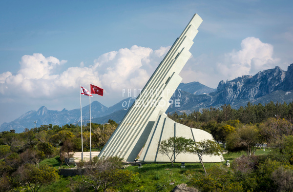 Victory-Monument-Kyrenia-North-Cyprus - Photographs of famous buildings and places in North Cyprus.