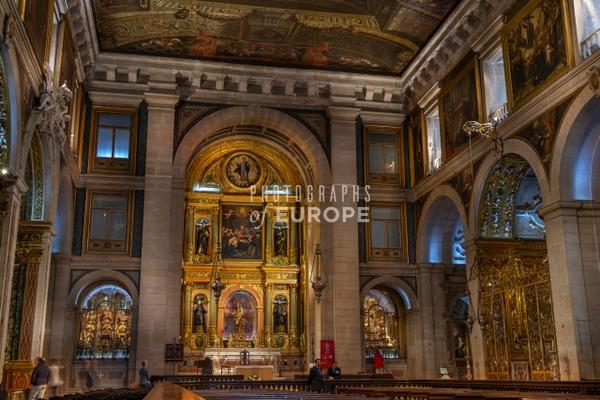 Interior-of-the-Church-of-Saint-Roch-Lisbon-Portugal - Photographs of Lisbon and Cascais, Portugal.