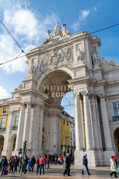 The-Rua-Augusta-Arch-Lisbon-Portugal-2 - Photographs of Lisbon and Cascais, Portugal.