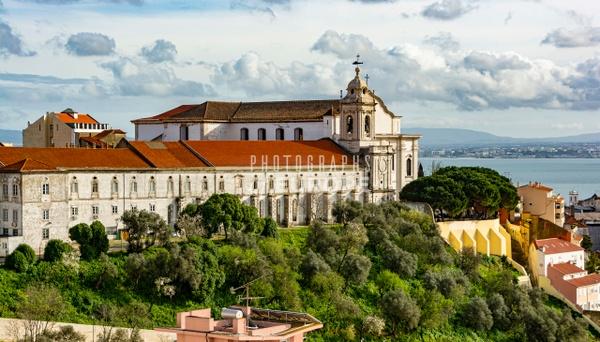 Monastery-of-Sao-Vicente-de-Fora-Lisbon-Portugal - Photographs of Lisbon and Cascais, Portugal.