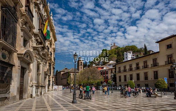 Plaza-de-Santa-Ana-Granada-Spain - Photographs of Granada, Spain