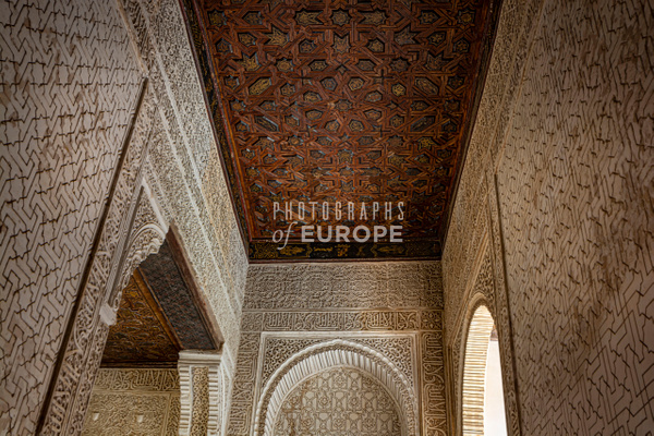 Alhambra-amazing-carving-Granada-Spain - Photographs of Granada, Spain