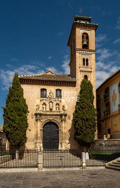 Church-of-San-Gil-y-Santa-Ana-Granada-Spain - Photographs of Granada, Spain