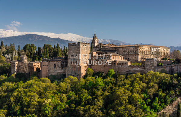 Alhambra-Granada-Spain - Photographs of Granada, Spain