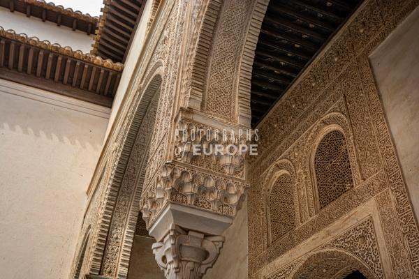 Alhambra-architecture-detail-Granada-Spain - Photographs of Granada, Spain